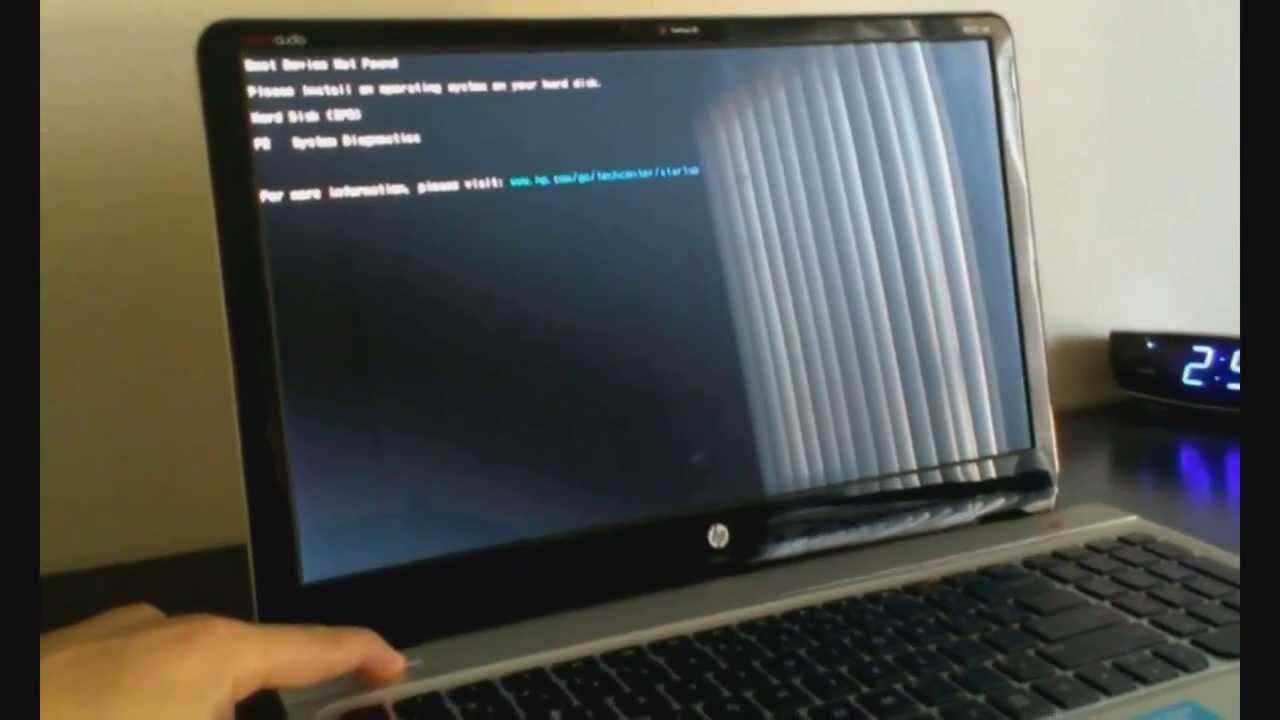 How To Fix Missing Operating System Error